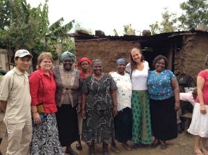 Franky, me, Nancy, Leah behind,Jane, Susan, Kelly, Margaret