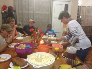 Lots of food and fun with other missionary friends and neighbors.