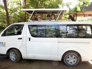 Our safari van!